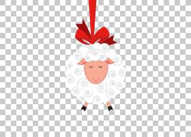 Sheep Eid al-Adha Eid al-Fitr,卡通羊弓PNG剪贴画卡通人物,哺乳