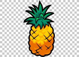 iPad Pro Zombie PPAP菠萝,卡通菠萝的PNG剪贴画食品,食谱,水果,i