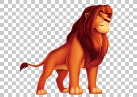 Simba Nala Pumbaa Mufasa伤痕,国王狮子卡通,狮子王辛巴PNG剪贴
