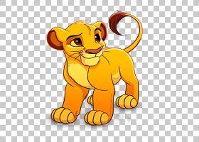 Simba Nala沃尔特迪斯尼公司卡通,simba PNG剪贴画哺乳动物,猫像
