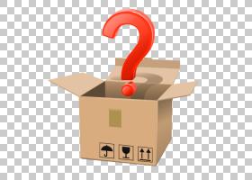 Box Royalty-,Question mark and carton creative map PNG clipa