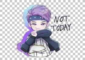 BTS Blood Sweat&Tears赤壁绘画粉丝艺术,赤壁PNG剪贴画紫色,紫