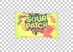 Sour Patch Kids Gummi糖果浆果,糖果PNG剪贴画食物,文字,矩形,儿