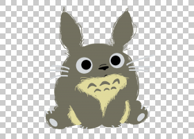 Studio Ghibli Fan艺术DeviantArt绘画,totoro PNG剪贴画哺乳动物