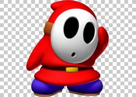 Super Mario Bros. 2 Shy Guy Luigi,Shy Dog的PNG剪贴画爱,超级