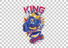 T,衬衫Logo平面设计,电视王PNG剪贴画杂项,漫画,国王,插画家,我们