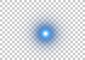 Light Point Circle发光效果,太阳光环,蓝光动画PNG剪贴画纹理,蓝