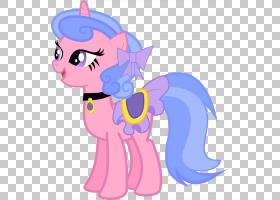 My Little Pony Pinkie Pie,皇家丝带的PNG剪贴画马,紫色,丝带,哺