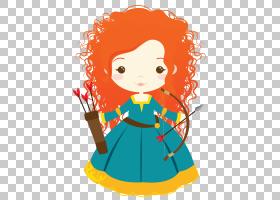 Merida Rapunzel迪士尼公主,索菲亚公主PNG剪贴画孩子,蹒跚学步,