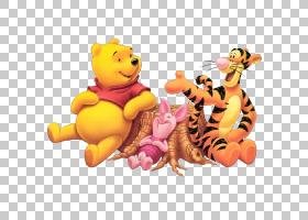 Tigger Piglet Winnie the Pooh Roo Eeyore,小熊维尼PNG剪贴画猫