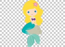 Mermaid Ariel,美人鱼PNG剪贴画脊椎动物,头,虚构人物,卡通,花卉,