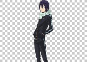 Noragami Yato,不,kami动漫漫画,kaneki PNG剪贴画黑头发,虚构人