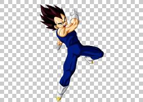 Vegeta龙珠Z:Sagas Goku Gohan树干,Vegeta PNG剪贴画虚构人物,