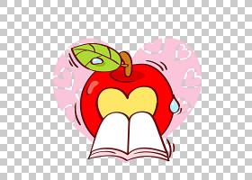 O,响心股票,书籍和Apple PNG剪贴画爱情,漫画书,青苹果,虚构人物,