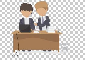 Office Logo卡通图标,办公室工作场景PNG剪贴画模板,白色,家具,ep