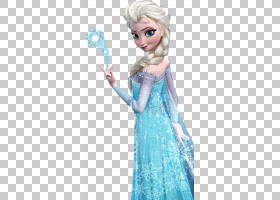 Elsa Frozen Anna儿童服装,冷冻,公主Elsa PNG剪贴画蓝色,漫画,孩