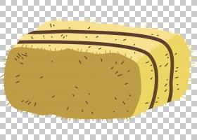 Wheatstack干草农场秸秆,农场干草捆PNG剪贴画角,食品,卡通手绘,