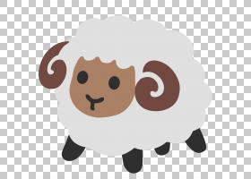 Emoji Noto字体表意文字网页,羊PNG剪贴画哺乳动物,动物,carnivor