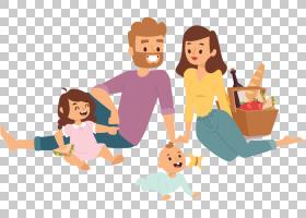 Picnic Royalty-,家庭PNG剪贴画孩子,手,人,友谊,蹒跚学步,插画,