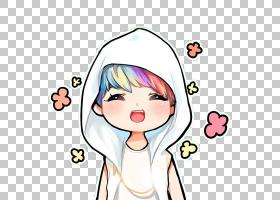 EXO赤壁粉艺术XOXO绘画,彩虹发PNG剪贴画白色,孩子,脸,手,蹒跚学