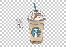 冰咖啡星巴克热巧克力,星巴克咖啡PNG剪贴画食品,冷冻甜品,咖啡店