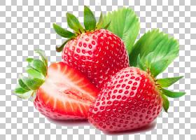 冰沙草莓汁草莓汁水果,3D卡通水果s水果,草莓,草莓PNG剪贴画卡通