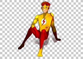 Flash Art Chibi,Kid Flash PNG剪贴画虚构人物,超级英雄,卡通,虚