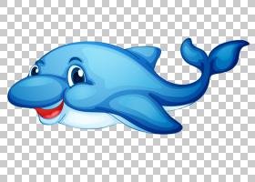 海豚皇室 - ,蓝海豚PNG剪贴画蓝色,海洋哺乳动物,哺乳动物,画,动