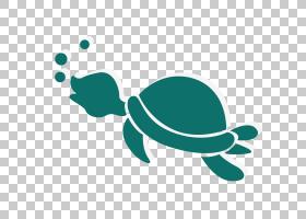 海龟,可爱的卡通乌龟龟PNG剪贴画卡通人物,蓝色,动物,徽标,蓝绿色