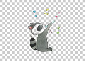 浣熊绘图可爱,浣熊PNG剪贴画水彩画,动物,赤壁,脊椎动物,卡通,鸟,