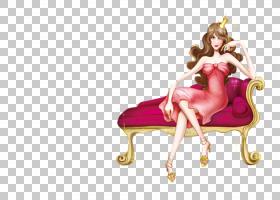海报漫画,优雅女王PNG剪贴画电脑壁纸,女王,虚构人物,卡通,材料,