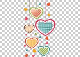 贺卡坠入爱河卡通,爱,多彩多姿的心脏的PNG剪贴画爱,水彩画,星星,
