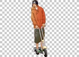 滑板车Vespa自行车,滑板车少年材料PNG剪贴画png材料,生日快乐矢