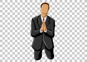 跪祷告,跪男PNG剪贴画手,人,房间,业务人,计划,祈祷,男人剪影,领图片