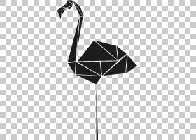 火烈鸟模具,卡通火烈鸟PNG剪贴画卡通人物,角度,动物,三角形,海报
