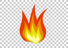 火焰火,火PNG剪贴画叶,橙色,计算机壁纸,卡通,免版税,绘图,大自然