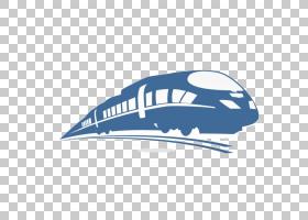 火车铁路运输Logo轨道高速铁路,火车PNG剪贴画蓝色,会徽,画,标签,