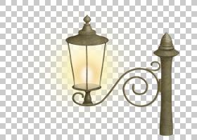 灯笼街灯照明蜡烛,卡通街灯PNG剪贴画灯具,玻璃,灯,灯,灯效果,卡