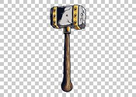 锤子武器斧,锤子PNG剪贴画技术,卡通,金属,锤子和钉子,法官锤子,