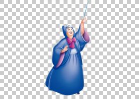 灰姑娘王子迷人仙女教母迪士尼仙女天娜,仙女教母PNG剪贴画迪士尼