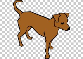 狗猫,棕色狗的PNG剪贴画棕色,carnivoran,宠物,狗像哺乳动物,狗品