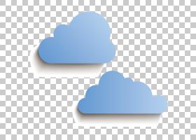纸云,蓝云PNG剪贴画水彩画,心,计算机壁纸,云计算,卡通,卡通云,pa