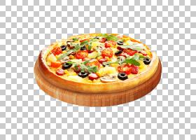 西西里披萨加州风味披萨比萨玛格丽塔番茄,比萨饼的PNG剪贴画食品