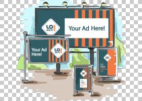纸广告牌广告企业形象,广告手语PNG剪贴画海报,徽标,广告,生日快