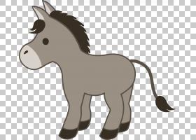 驴,卡通驴PNG剪贴画马,卡通人物,哺乳动物,猫像哺乳动物,动物,食