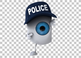 警察3D计算机图形学,3D恶棍PNG剪贴画3D计算机图形学,摄影,人,海
