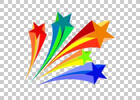 纸灯,不规则星星,星星,装饰元素,彩色PNG剪贴画颜色飞溅,星星,铅