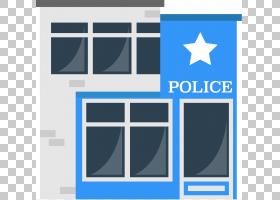 警察局监狱大楼,卡通警察局PNG剪贴画卡通人物,蓝色,角度,人,徽标