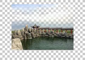 东湖亭湖美丽,湖亭PNG剪贴画石头,封装的PostScript,亭子,卡通湖