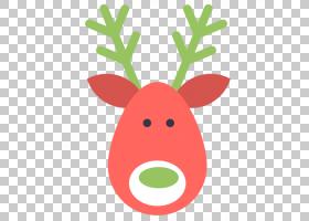 鲁道夫驯鹿圣诞老人圣诞音乐,圣诞鹿PNG剪贴画鹿茸,动物,圣诞节装